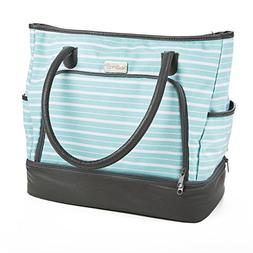 Fit & Fresh Voyager Travel/Commuter Tote Bag with Insulated