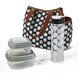 Fit & Fresh Westerly Insulated Lunch Bag Set for Women with