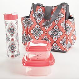 Fit & Fresh Westport Insulated Lunch Bag Kit for Women with