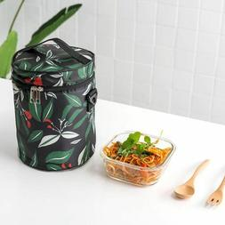 Women's Man Lunch Bag Waterproof Portable Food Boxes Thermal