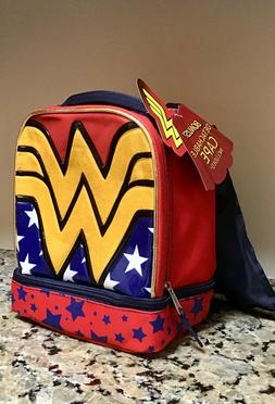 Wonder Woman insulated lunch bag - lunch box with separate i