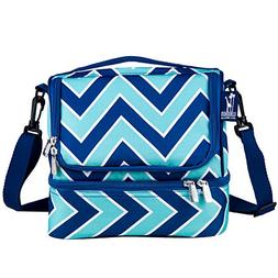 Wildkin Zig Zag Refresh Two Compartment Lunch Bag