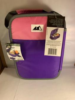 ARCTIC ZONE ZIPPERLESS INSULATED LUNCH BOX WITH BUILT IN TRA